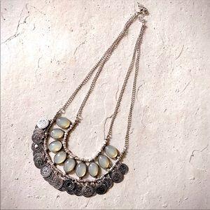 🔹New🔹Bib Coin Boho Necklace